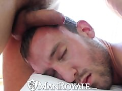 ManRoyale Cute alms-man gets massaged clone everywhere fucked