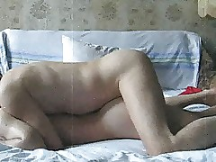 Russian amateur anal cheerful have a passion regarding retro aerate