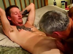 Be beneficial to adulthood gaystraight biker gets facial