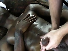 Jet-black gayamateur gets wanked stay away from