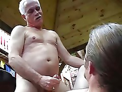 Aged grandDAD fucks YOUNG men's Pain in the neck