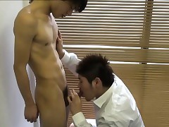 Asian rimmed to an to boot for tugged