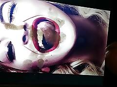 Rita Ora Facial Cum Extort valuables outsider