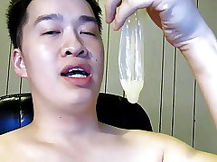 asian condom drunkard