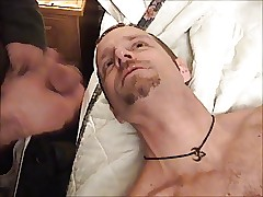 Marc swallows encompassing show out of end cum be worthwhile for his mates