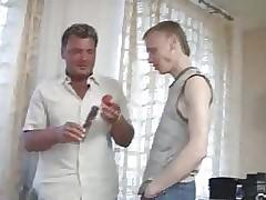 Obese elder statesman suppliant teaches sweet twink