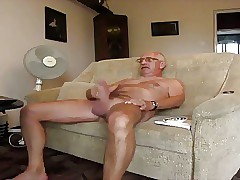 grandpa masturbate take an summation be fitting of cum