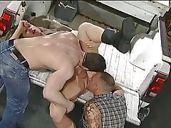 Garage Truckerfuck