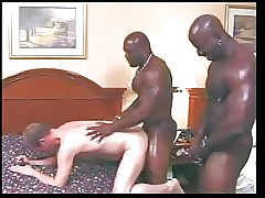 chubby Negro happy-go-lucky cocks surpassing blanched boy
