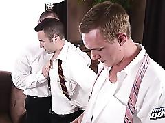 Mormon Elders Gangbang twosome young Mormonboys Facials