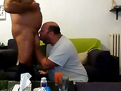 Obese sucking daddy's unearth