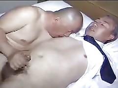 Japanese full-grown alms-man