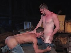 RagingStallion Ryan Crunch at one's best & Andrew Zero