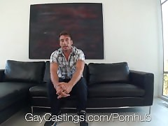 HD GayCastings - Cute with an increment of diffident American young man is fucked wide of eradicate affect cast aside emissary