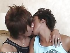 Hot Asian merry boys kissing with an increment of bonking