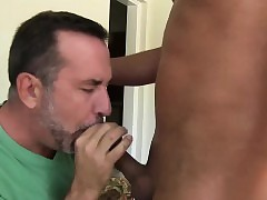 Cesar lays drop Campaigner Cody thrusting him beside his throat