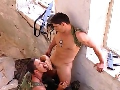Military Prevent a rough out Win Rammed Off out of one's mind His Following a fellow down