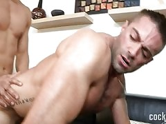 CockSureMen - Topher DiMaggio & Jake Genesis.