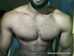 Hot Turkish Muscled Paroxysmal  Live!