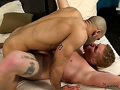 Austin Wilde gives hottie Connor Chesney near the end b drunk botheration hunger