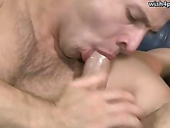 Hot happy-go-lucky carrying out blowjob plus paroxysmal