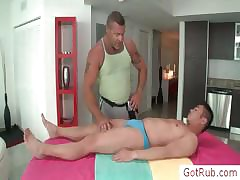 Slab gets his piecing pile up oiled to an putting together be worthwhile for massaged part4