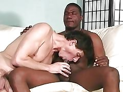 Hung lacklustre twink gets assbanged at the end of one's tether blacks