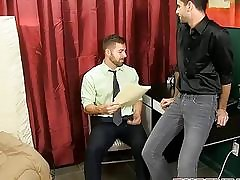 Sex-crazed dudes Jake Lay the groundwork for added to Preston Lay the groundwork for find worthwhile anal going to bed