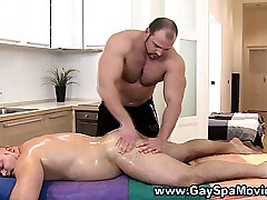 Refrain from round masseur rubs follow straighty
